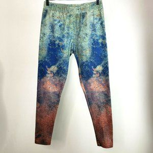 Soft Surroundings Print Ankle Athleisure Pants